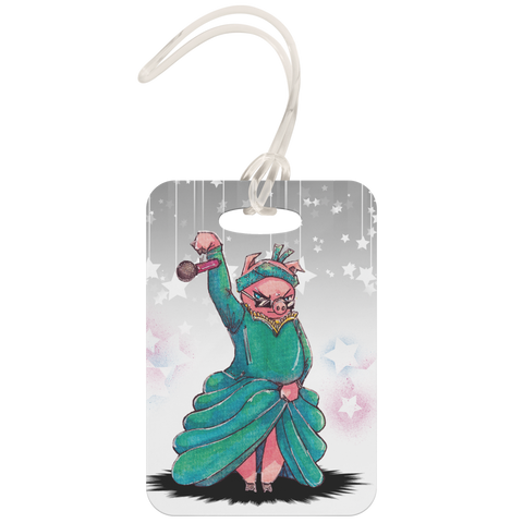 Piggy Schuyler Luggage Tag