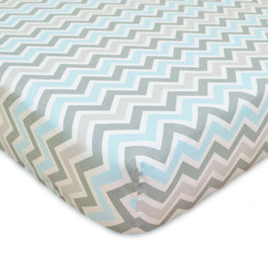 Brixy 100% Cotton Percale Bassinet Sheet - Prints