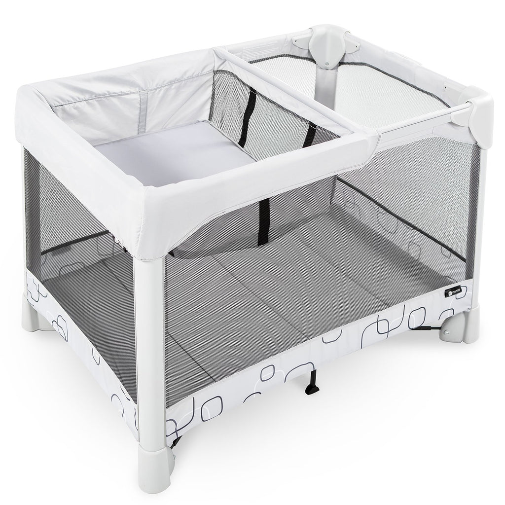 4moms Breeze Classic Playard with Bassinet + Travel Bag