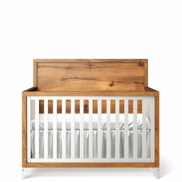 Romina Pandora Convertible Crib (Oak Headboard)