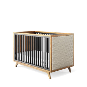 Romina Uptown Classic Crib (Tufted Sides)