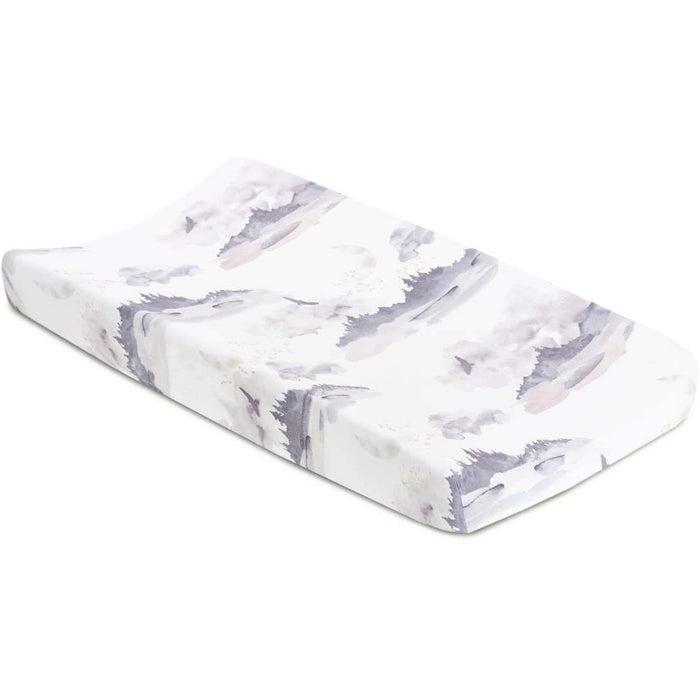 Oilo Misty Mountain Jersey Changing Pad Cover