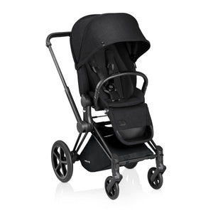 Cybex Priam Matte Black Frame with Lux Seat