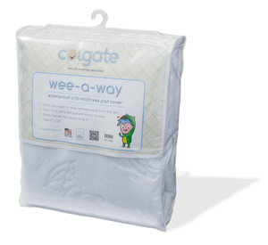 Colgate Wee-A-Way Fitted Crib Mattress Cover