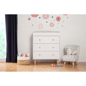 Babyletto Lolly 3-Drawer Changer Dresser with Removable Changing Tray
