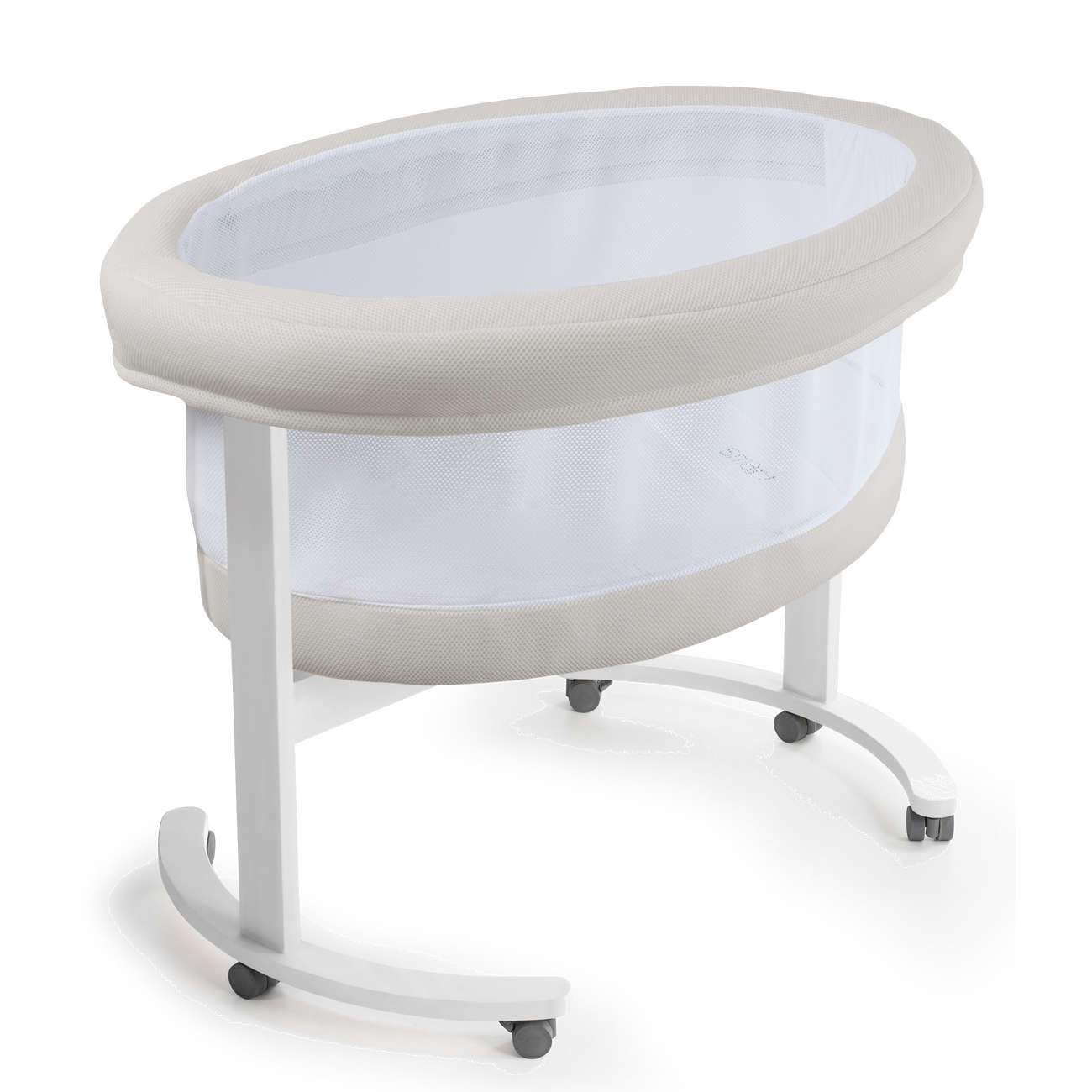 Micuna Smart Fresh Wooden Fabric Bassinet