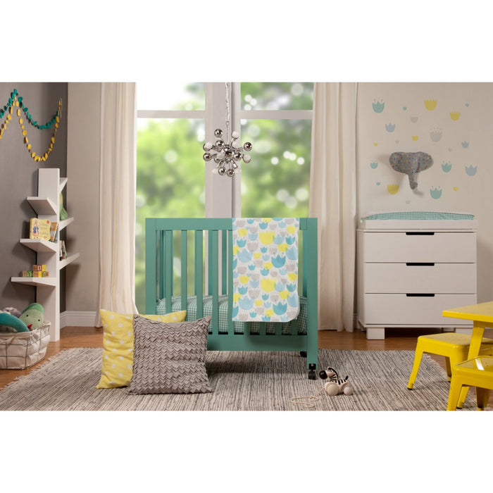 Babyletto Tulip Garden 4-Piece Mini Crib Set