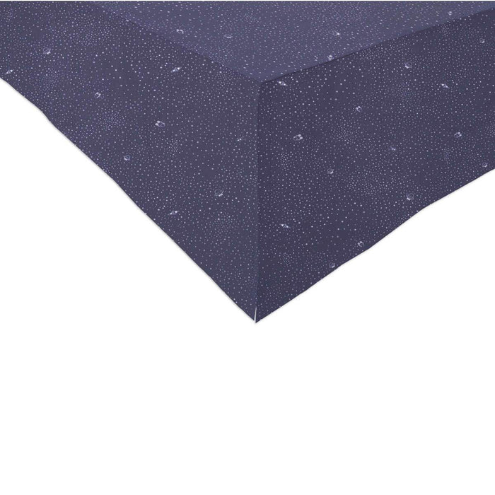 Babyletto Galaxy Crib Skirt (Stars) In Navy color