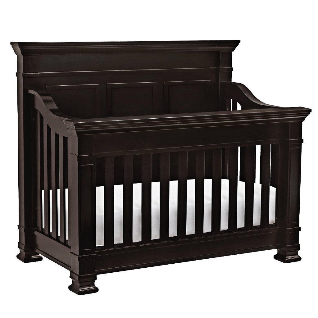Franklin & Ben Tillen 4-in-1 Convertible Crib with Toddler Bed Conversion Kit