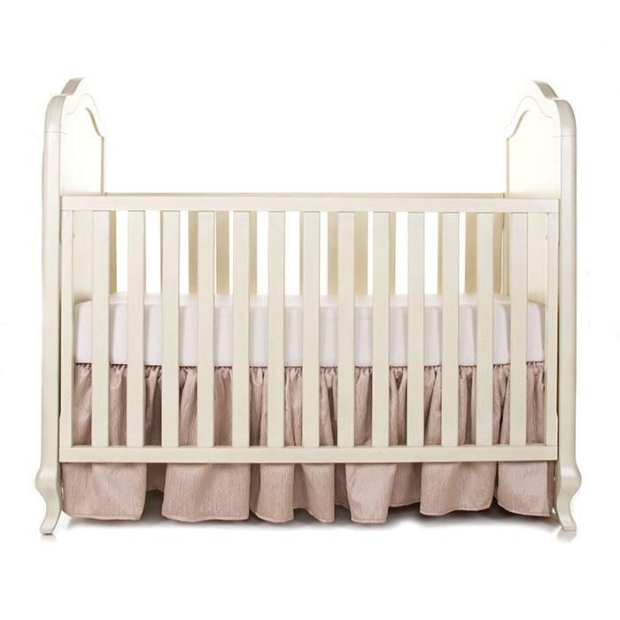 Glenna Jean Angelica 2-Piece Starter Bedding Set (Includes champagne sheet & crib skirt)