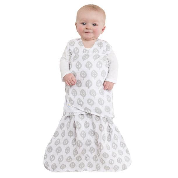 huge discount a629f ddb9c HALO SleepSack Swaddle Muslin Grey Tree Leaf