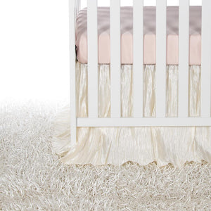 Glenna Jean Little Princess 2-Piece Starter Bedding Set (Includes pink sheet & crib skirt)