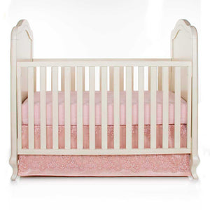 Glenna Jean Remember My Love 2-Piece Starter Bedding Set (Includes moiré sheet & crib skirt)