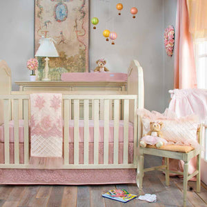 Glenna Jean Remember My Love 3-Piece Bedding Set (Includes quilt, moiré sheet & crib skirt)