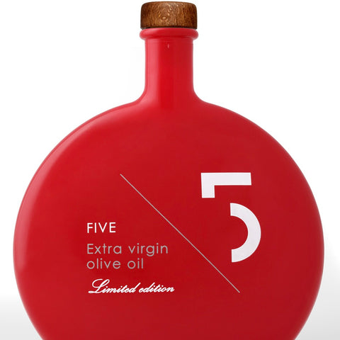 Five Limited Edition Extra Virgin Olive Oil (Red Bottle)