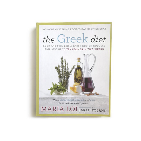 "Signed Copy of ""The Greek Diet"" by Chef Maria Loi"
