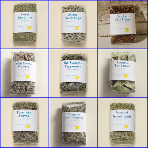 Ultimate Greek Herbs & Spice Collection - Set of 9
