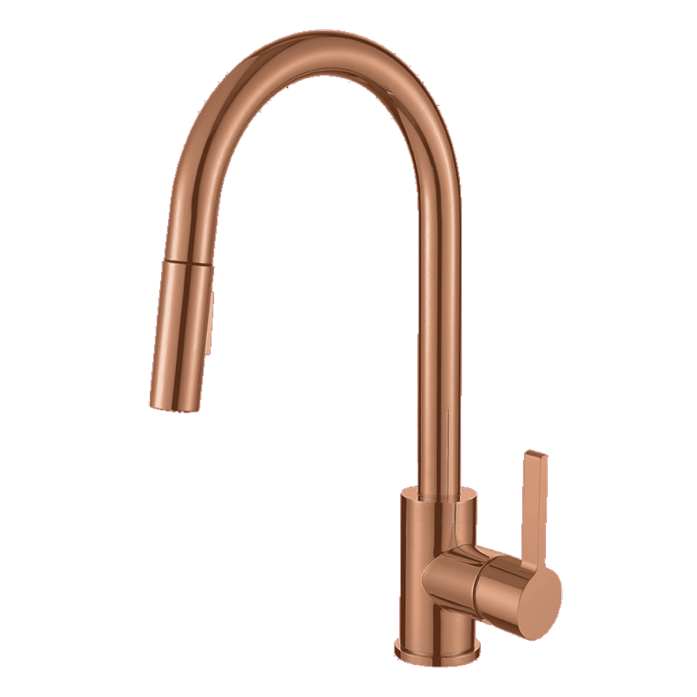 Amelia Kitchen Faucet - Rose Gold