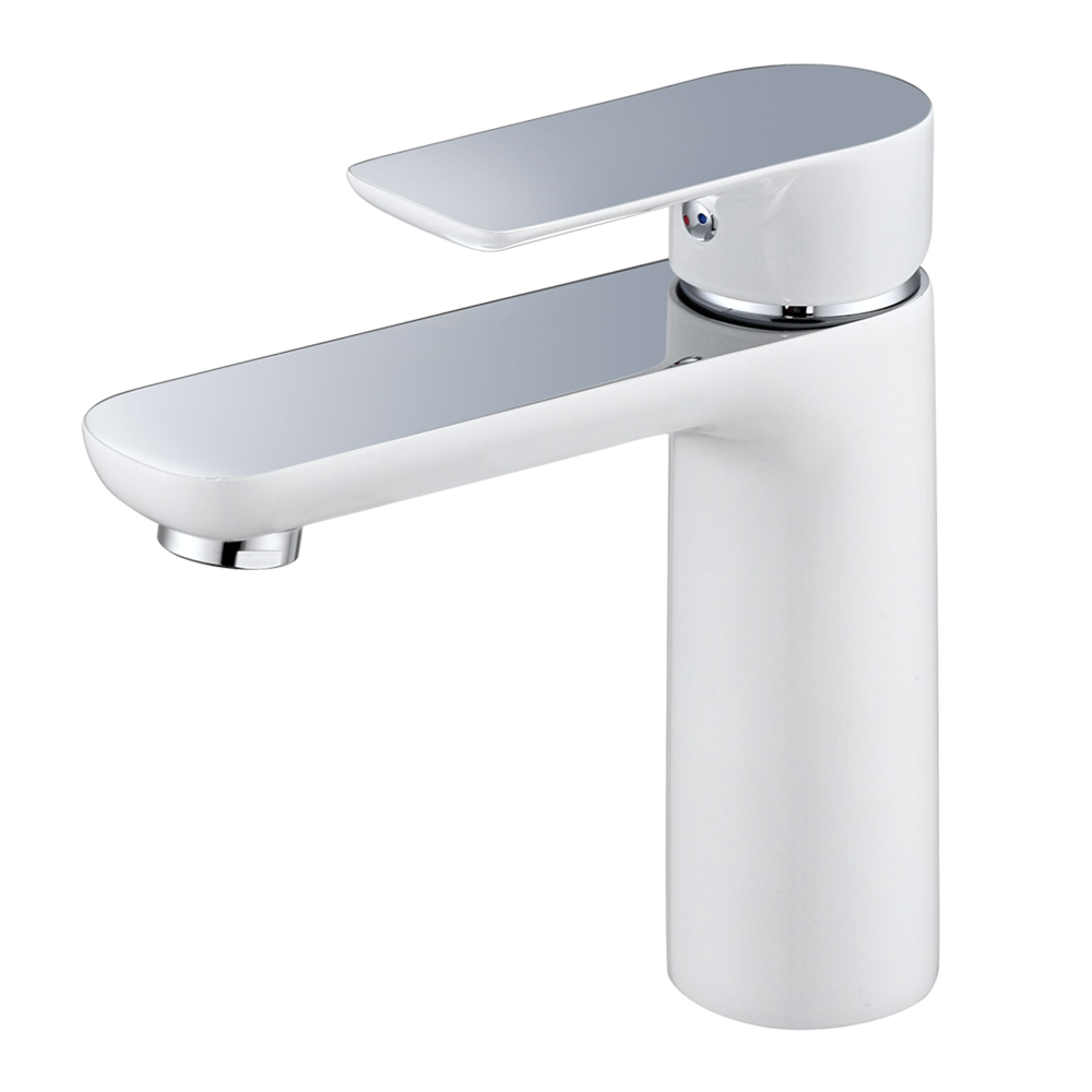 Rachael Kitchen Faucet - Chrome and Metro White