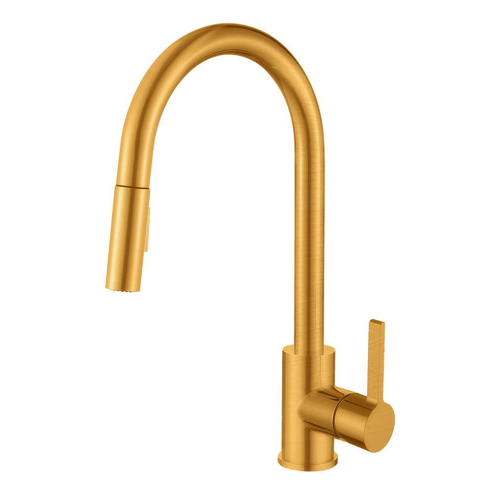 Santino Kitchen Faucet - Champagne Gold