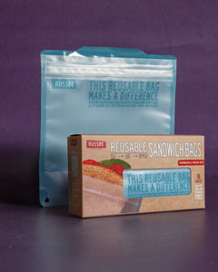 Reusable Sandwich Bags - Box of 8
