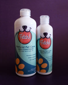Fetch! Pet Neem Conditioner with Green Tea and Castor Oil - Loop.