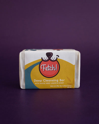 Fetch! Pet Neem Deep Cleansing Bar Shampoo Bar - Loop.