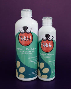 Fetch! Pet Neem Shampoo with Aloe Vera - Loop.