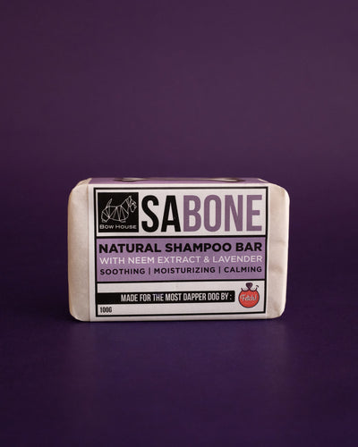 Fetch! Pet Neem Sabone Natural Shampoo Bar with Lavender - Loop.