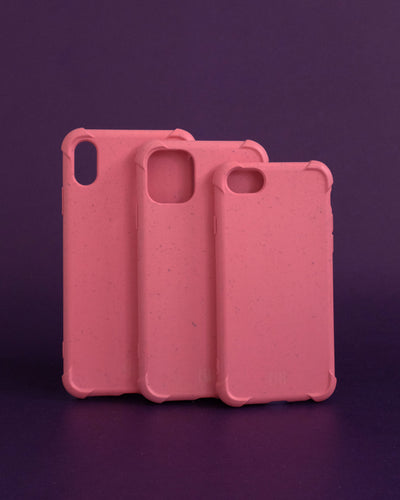 Plant-based Bumper iPhone Case - Coral - Loop.