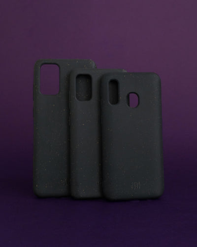 Plant-based Smooth Samsung Case - Black - Loop.