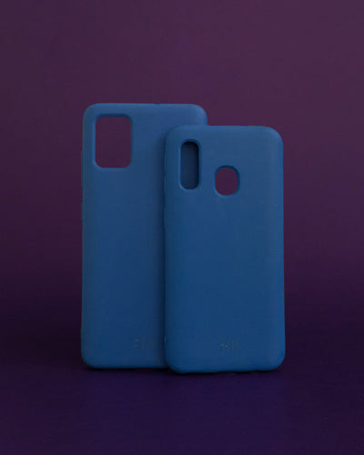 Plant-based Smooth Samsung Case - Blue - Loop.