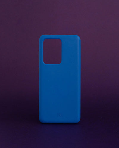 Plant-based Smooth Samsung Case - Cerulean - Loop.