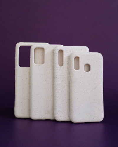 Plant-based Smooth Samsung Case - Ivory - Loop.