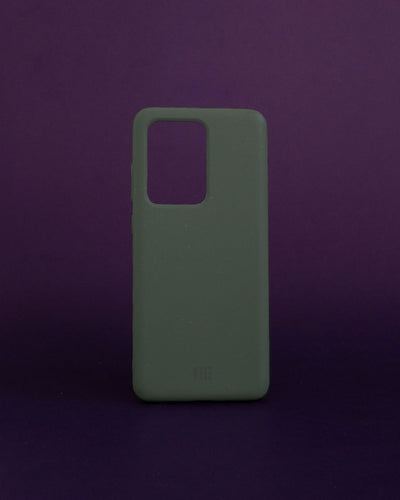 Plant-based Smooth Samsung Case - Olive - Loop.