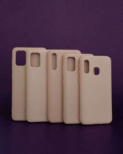Plant-based Smooth Samsung Case - Sand Pink - Loop.