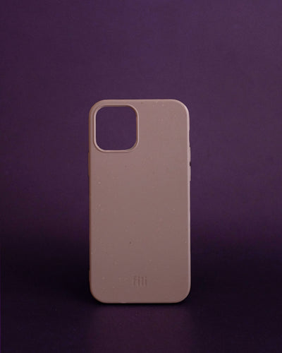 Fili Case Plant-based Smooth iPhone Case - Sand Pink - Loop.
