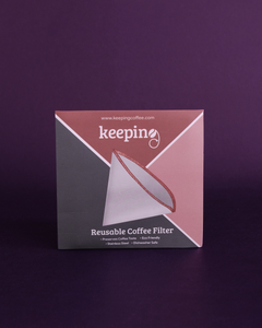Keeping Coffee Reusable Coffee Filter - Cone Shape - Loop.
