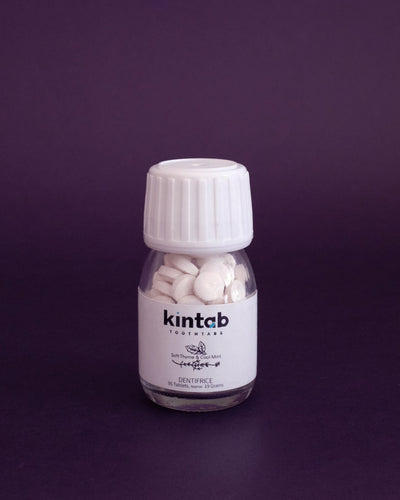 Kintab Toothtabs - Travel Size (95 Tablets) - Loop.