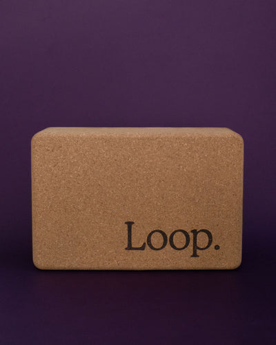 Loop. Cork Yoga Block - Loop.