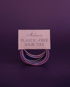 Plastic-Free Hair Ties (Set of 10)