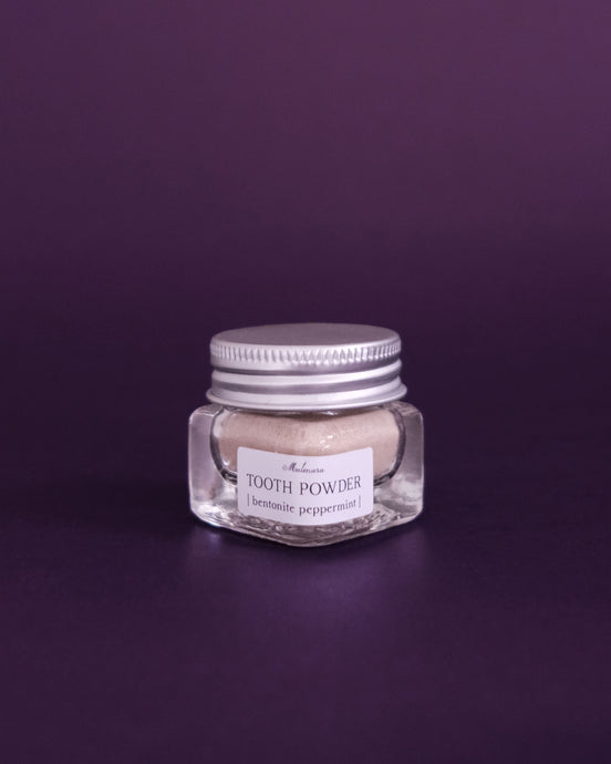 Matenara Tooth Powder - Bentonite Peppermint - Loop.
