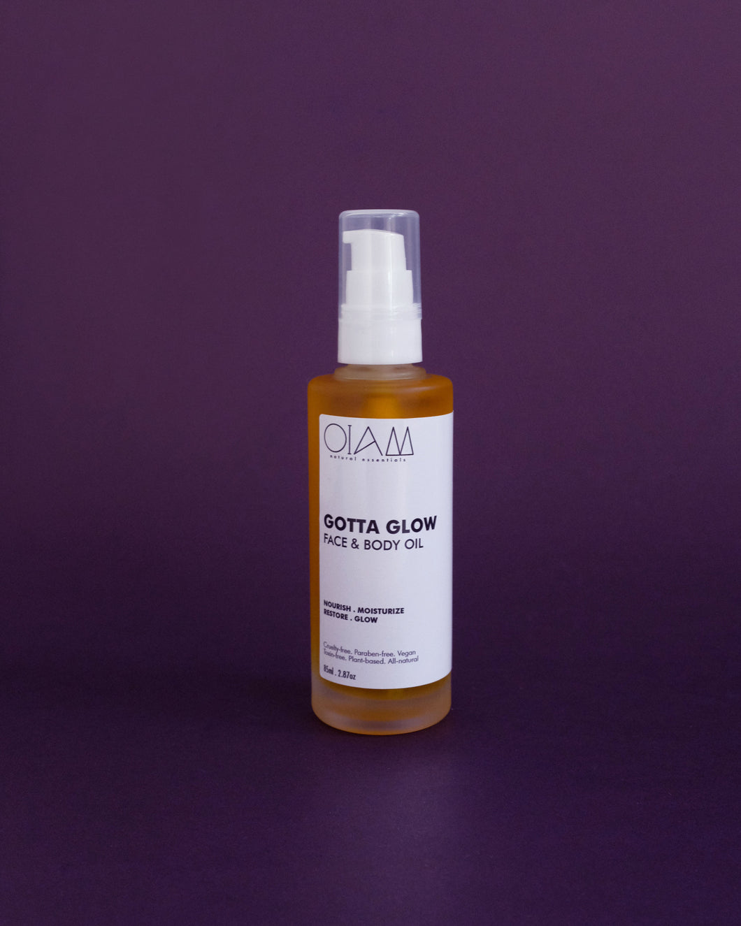 OIAM Gotta Glow Face & Body Oil - Loop.