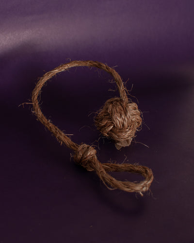 Abaca Ball and Rope - Loop.