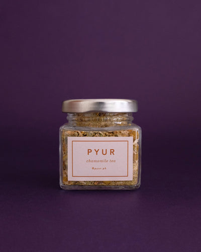 Pyur Tea Loose Leaf Tea - Chamomile (15g) - Loop.