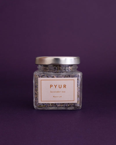 Pyur Tea Loose Leaf Tea - Lavender (15g) - Loop.