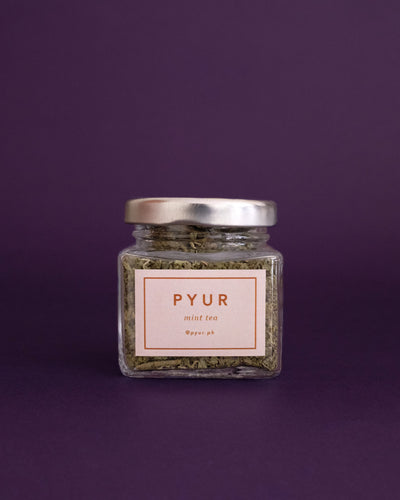 Pyur Tea Loose Leaf Tea - Mint (20g) - Loop.