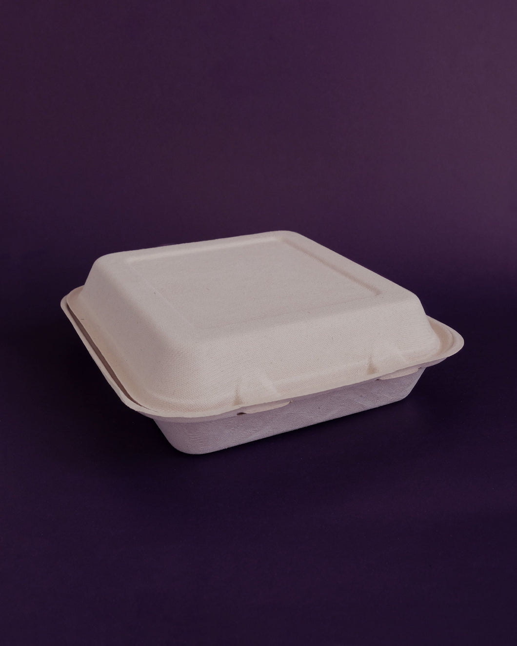 Sip Pak [40% OFF] Medium Clam - 1,200 ml Square Sugarcane Clamshell Container (50pcs) - Loop.
