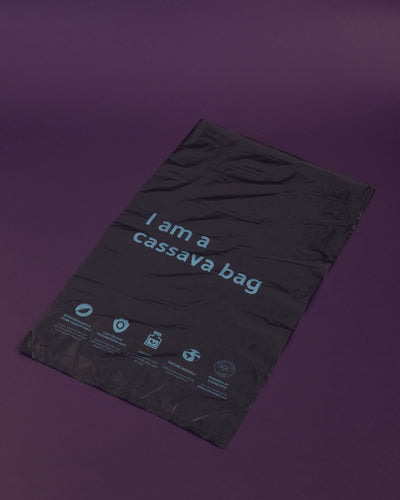 Sip Pak Seal Cassava Mailer Bag (50 pcs.) - Black - Loop.