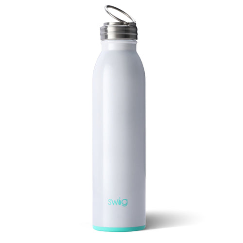 Swig Life 20oz Bottle in Diamond White